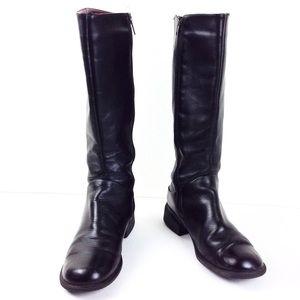 Bass Black Moto Boots 8
